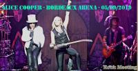 ALICE COOPER - Bordeaux Arena (Floirac) + BLACK STONE CHERRY  05/09/2019