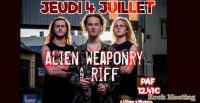ALIEN WEAPONRY / R.I.F.F. - Toulouse (l'Usine à Musique) 05/07/2019