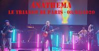 ANATHEMA – Le Trianon de Paris - 08/03/2020