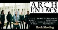 ARCH ENEMY - Toulouse - Le Bikini - 09/07/2019