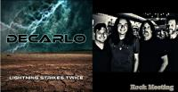 DeCARLO - Lightning Strikes Twice - Nouvel album solo du chanteur de Boston !