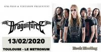 DRAGONFORCE - FROZEN CROWN - Athanasia - Toulouse - Le Metronum - 13/02/2020
