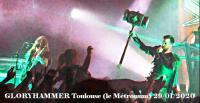 GLORYHAMMER - Nekrogoblikon - Windrose - Toulouse - Le Metronum 29/01/2020