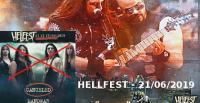 HELLFEST 2019 - 21 juin - Manowar Out ! Sabaton In ! Gojira - King Diamond - Dream Theater - Mass Hysteria - Hank Von Hell - Graveyard - Ultra Vomit - Dagoba - Pestilence - Diamond Head - Demons & Wizards - No One Is Innocent - Sonata Arctica - Blackrain