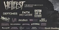 HELLFEST 2020 - System Of A Down - Faith No More - Volbeat - Judas Priest - Deep Purple - Alter Bridge - Korn - Opeth - Airbourne ...  du 19 au 21 juin !