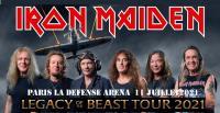 IRON MAIDEN - Paris La Défense Arena  Avec Airbourne et Avatar - 11 juillet  2021
