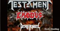L'épidémie de coronavirus provoque l'annulation du concert TESTAMENT, EXODUS et DEATH ANGEL en Italie