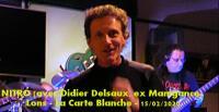 NITRO (avec Didier Delsaux, ex Manigance) - Lons - La Carte Blanche - 15/02/2020