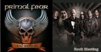 PRIMAL FEAR - Metal Commando - Chronique - Vidéos