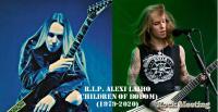 R.I.P. Alexi Laiho – Le chanteur guitariste fondateur de Children Of Bodom est mort à l'age de 41 ans