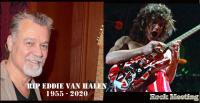 R.I.P. EDDIE VAN HALEN - Le guitariste est mort à l'âge de 65 ans des suites d'un cancer