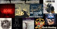 ROCKMEETING AWARDS Albums 2020 : Le Top 10  de John MARKUS