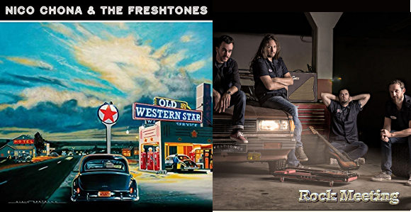 nico chona the freshtones old western star nouvel album