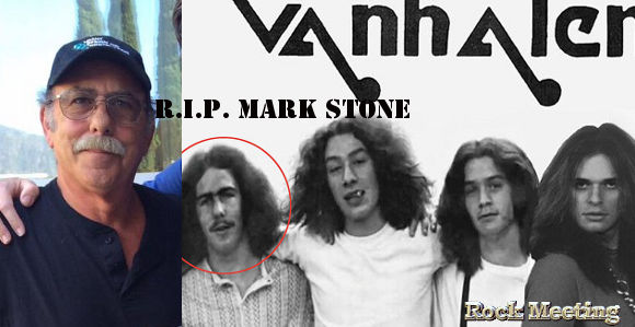 r i p mark stone le bassiste originel de van halen est mort des suites d un cancer deces desparition