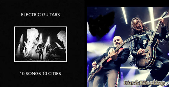 electric guitars 10 songs 10 cities