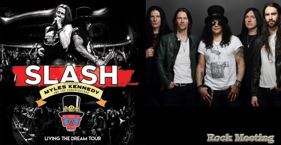 slash living the dream tour
