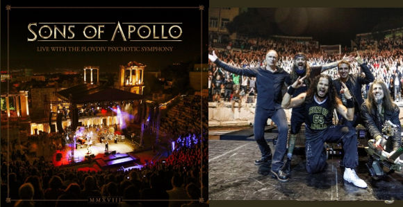 sons of apollo live with the plovdiv psychotic symphony