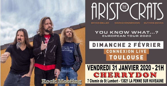 the aristocrats toulouse connexion live le 02 02 2020 marseille cherrydon le 30 01 2020