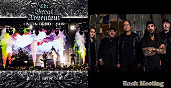 the neal morse band the great adventour live in brno 2019 nouvel album live pour le 06 03 2020