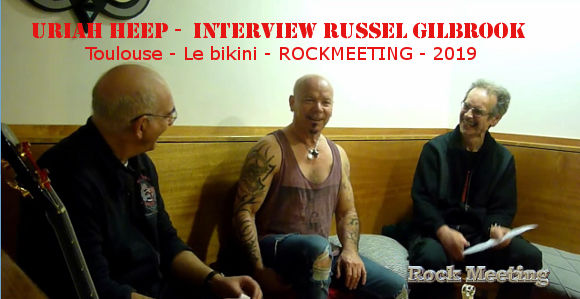 uriah heep interview russel gilbrook 2019