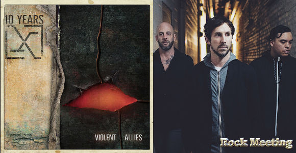 10 years violent allies nouvel album the unknown video single