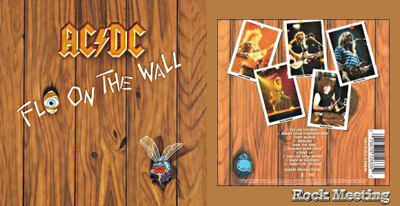 ac dc fly on the wall 1985 chronique review