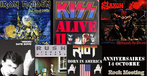 anniversaires 14 octobre kiss iron maiden saxon rush nazareth the moody blues al atkins twisted sister riot trivium deep purple exodus ozzy osbourne