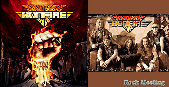 bonfire fistful of fire nouvel album le 3 avril 2020
