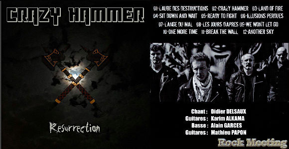 crazy hammer resurrection nouvel album 2020