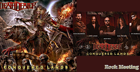 death dealer conquered lands nouvel album avec l ancien guitariste de manowar ross the boss