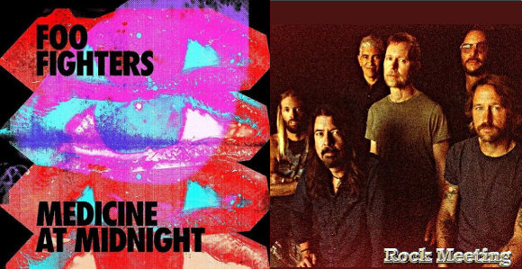 foo fighters medicine at midnight nouvel album shame shame single et video