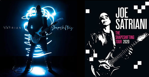 joe satriani shapeshifting nouvel album pour le 10 avril 2020