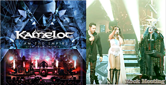 kamelot i am the empire live from the 013 en dvd et blu ray