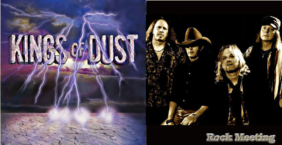 kings of dust premier album eponyme avec bassiste des badlands