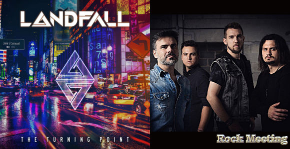 landfall the turning point nouvel album sound of the city single et video