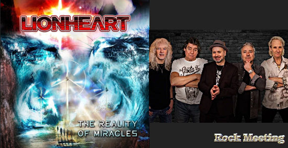 lionheart avec l ex iron maiden dennis stratton the reality of miracles nouvel album thine is the kingdom single et video
