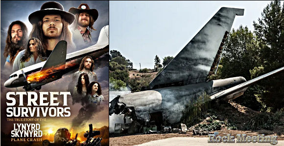 lynyrd skynyrd un film biopic sur le crash historique sortira le 30 juin il s intitule street survivors the true story of the lynyrd skynyrd plane crash