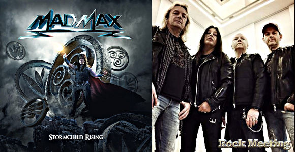 mad max stormchild rising nouvel album talk to the moon single et video