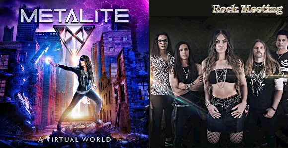 metalite a virtual world nouvel album peacekeepers video clip