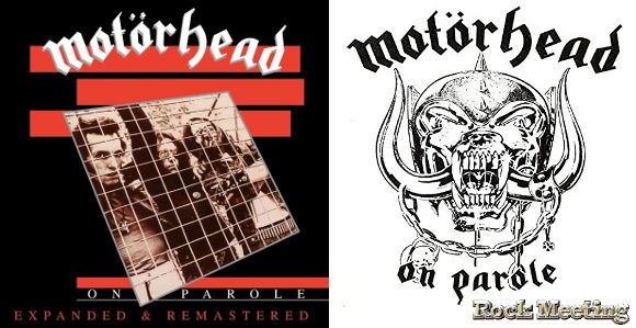 motoerhead on parole expanded and remastered edition octobre 2020