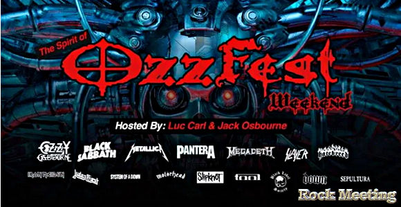 ozzy osbourne black sabbath pantera megadeth vont participer au prochain concert virtuel the spirit of ozzfest weekend