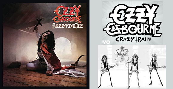 ozzy osbourne re edition de blizzard of ozz 40th anniversary expanded edition crazy train nouveau clip