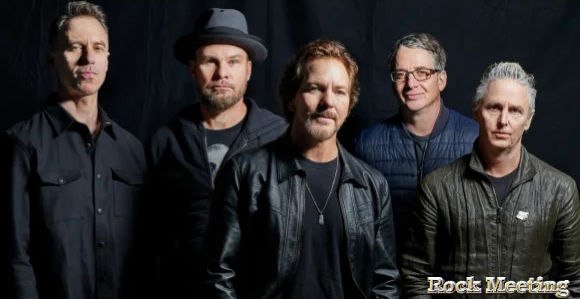 pearl jam nouveau titre get it back video