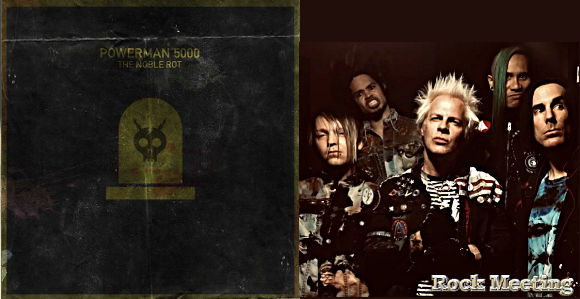 powerman 5000 the noble rot