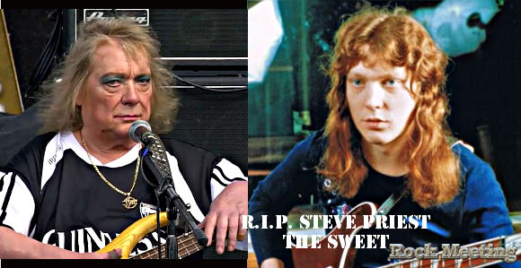 r i p steve priest le bassiste des the sweetest decede a l age de 72 ans