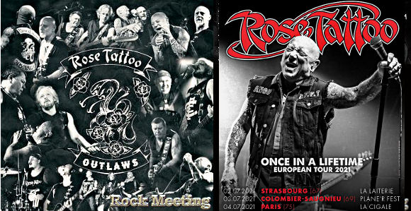 rose tatto outlaws le nouvel album et strasbourg paris et lyon 2021