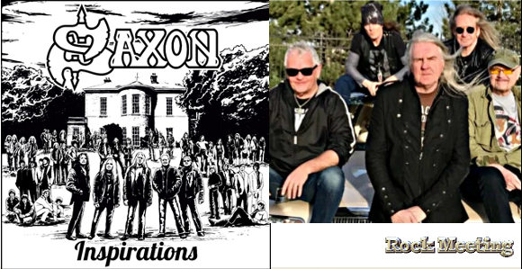 saxon inspirations nouvel album de reprises