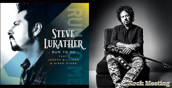 steve lukather toto run to me le tout nouveau single avec ringo starr et joseph williams