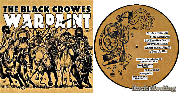 the black crowes warpaint
