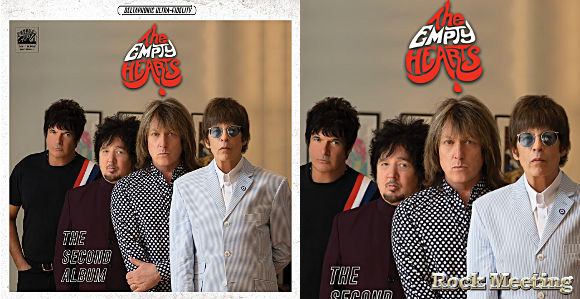the empty hearts avec elliot easton the cars clem burke blondie the second album the world has gone insane video